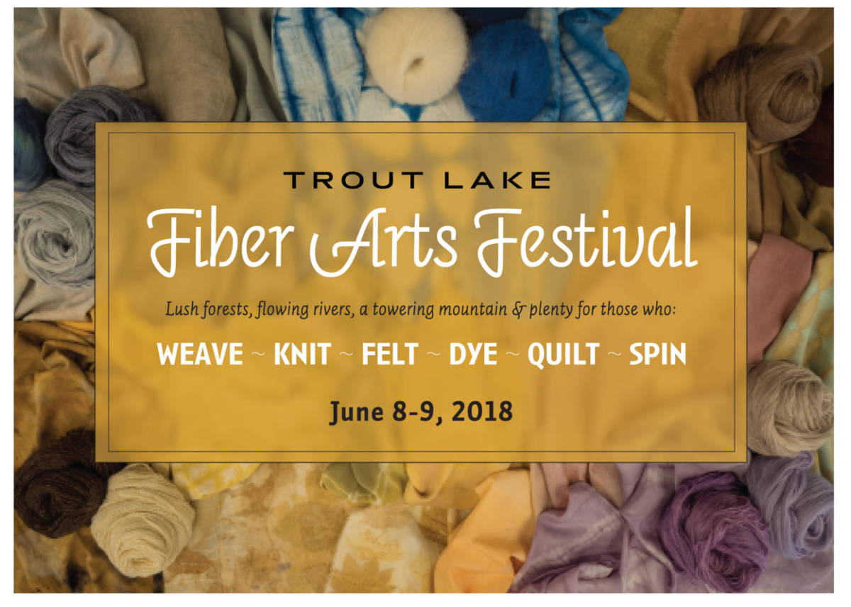 Trout Lake Fiber Arts Festival – gorgecurrent.com
